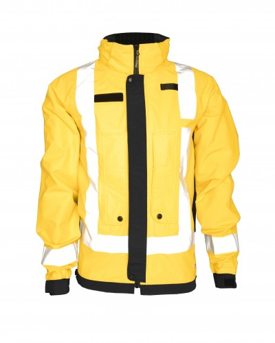Waterproof Patrol Jacket (WBJK-YL)_Front